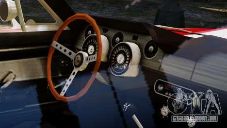 Shelby Cobra GT500 1967 para GTA 4 vista lateral