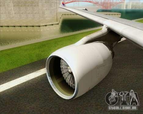 Airbus A330-323 Malaysia Airlines para o motor de GTA San Andreas
