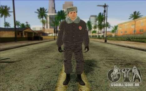 A polícia da Rússia Pele 4 para GTA San Andreas