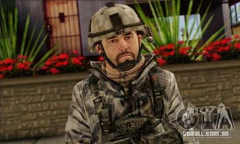Task Force 141 (CoD: MW 2) Skin 2 para GTA San Andreas terceira tela