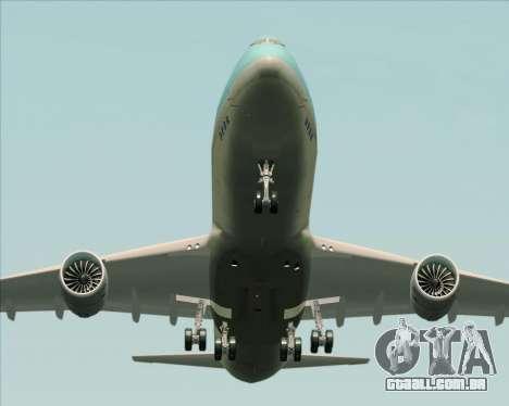 Boeing 747-8 Cargo Korean Air Cargo para o motor de GTA San Andreas
