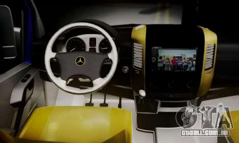 Mercedes-Benz Sprinter Dolmus v2 para GTA San Andreas traseira esquerda vista