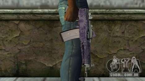 Graffiti MP5 para GTA San Andreas terceira tela