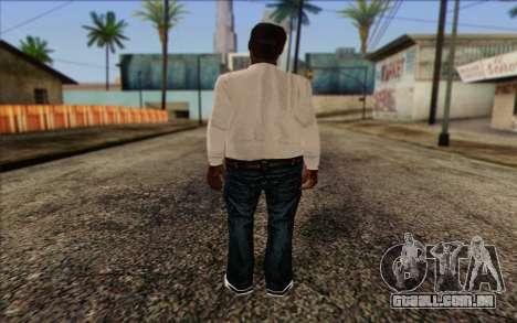 N.W.A Skin 1 para GTA San Andreas segunda tela