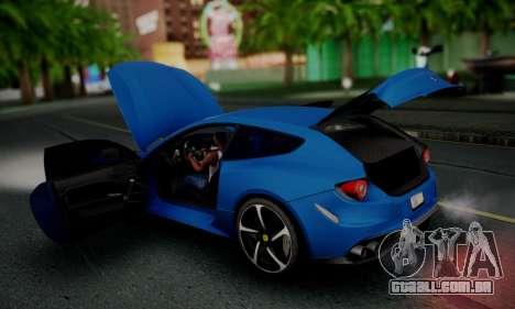 Ferrari FF 2012 para GTA San Andreas vista superior