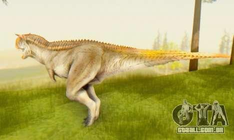 Carnotaurus para GTA San Andreas segunda tela