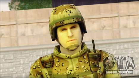 Navy Seal Soldier para GTA San Andreas terceira tela