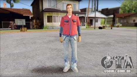 Marty with No Hat 2015 para GTA San Andreas