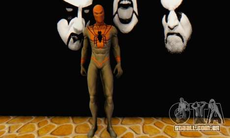 Skin The Amazing Spider Man 2 - Suit Assasin para GTA San Andreas quinto tela