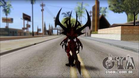Diablo From Diablo III para GTA San Andreas segunda tela
