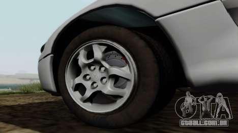 Mitsubishi 3000GT para GTA San Andreas vista direita