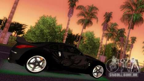 Nissan 350Z Veiside DK para GTA Vice City vista traseira esquerda