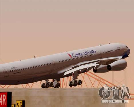 Airbus A340-313 China Airlines para o motor de GTA San Andreas