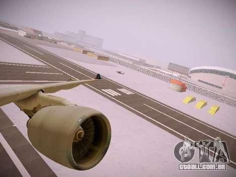 Airbus A330-300 Brussels Airlines para as rodas de GTA San Andreas