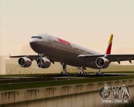 Airbus A340-642 Iberia Airlines para GTA San Andreas