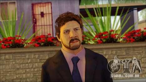 GTA 5 Ped 12 para GTA San Andreas terceira tela