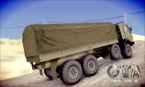 A KamAZ-6350 (APT) para GTA San Andreas vista direita