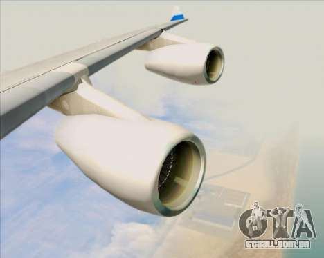 Airbus A340-313 China Airlines para as rodas de GTA San Andreas