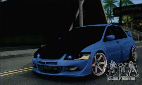 Mitsubishi Lancer Evolution IIX para GTA San Andreas