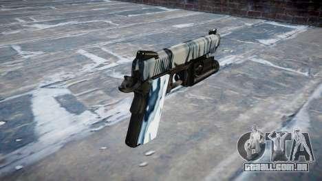 Arma Kimber 1911 Crânios para GTA 4 segundo screenshot