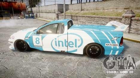 Ford Falcon XR8 Racing para GTA 4 esquerda vista