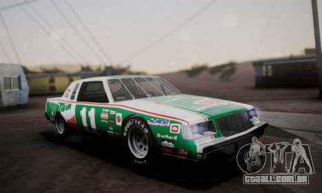 Buick Regal 1983 para GTA San Andreas vista inferior