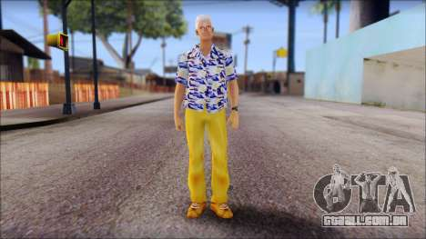 Doc from Back to the Future 1985 para GTA San Andreas