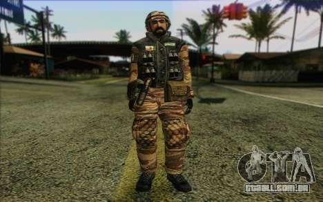 Soldados MEK (Battlefield 2) Pele 6 para GTA San Andreas