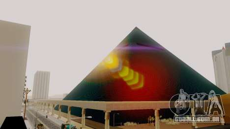 Novas texturas da pirâmide em Las Venturas para GTA San Andreas quinto tela