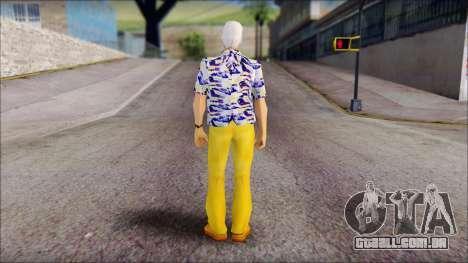 Doc from Back to the Future 1985 para GTA San Andreas segunda tela