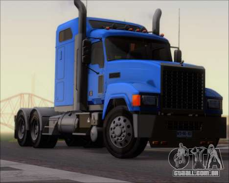 Mack Pinnacle 2006 para GTA San Andreas esquerda vista