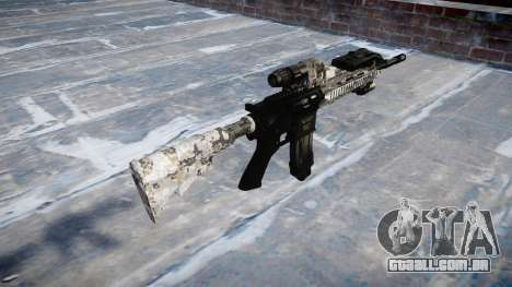 Automatic rifle Colt M4A1 ghotex para GTA 4 segundo screenshot