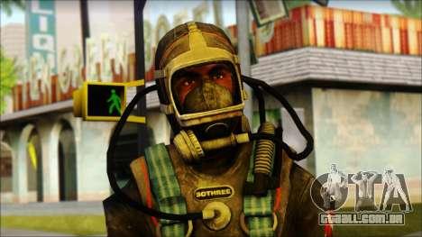 Mergulhador para GTA San Andreas terceira tela