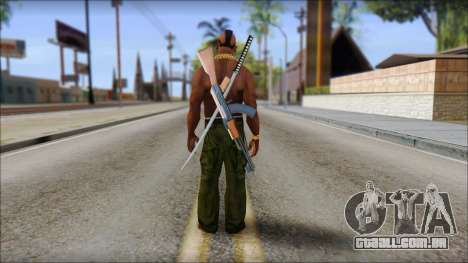 MR T Skin v9 para GTA San Andreas segunda tela