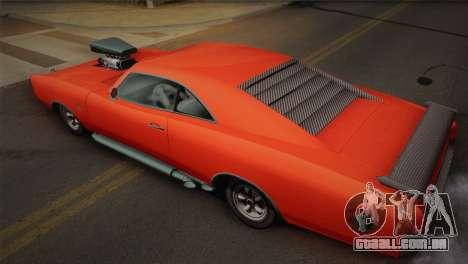 GTA 4 Dukes Tunable para GTA San Andreas vista traseira