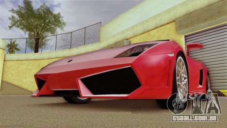 Lamborghini Gallardo LP 560-4 para GTA Vice City deixou vista
