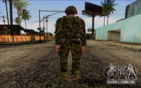 Soldados britânicos (ArmA II: BAF) v1 para GTA San Andreas segunda tela