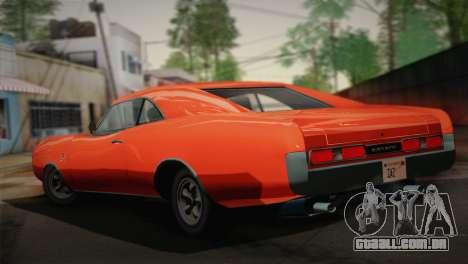 GTA 4 Dukes Tunable para GTA San Andreas esquerda vista