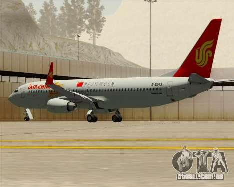 Boeing 737-89L Air China para o motor de GTA San Andreas