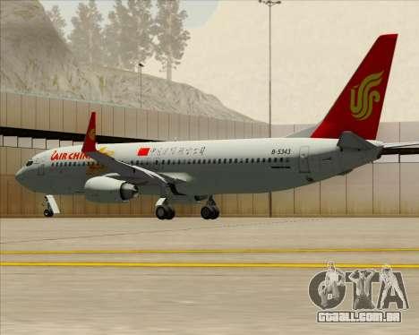Boeing 737-89L Air China para o motor de GTA San Andreas
