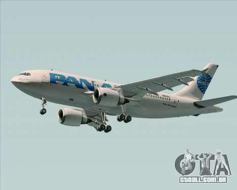 Airbus A310-324 Pan American World Airways para o motor de GTA San Andreas