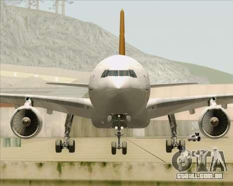 Airbus A330-300P2F UPS Airlines para GTA San Andreas vista superior