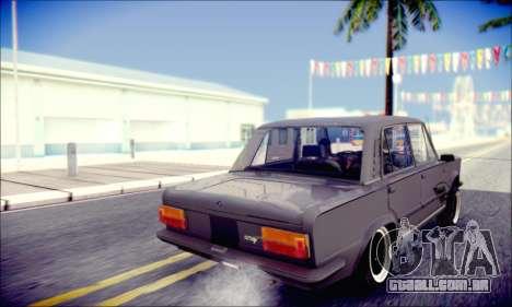 Fiat 125P Shark para GTA San Andreas vista interior
