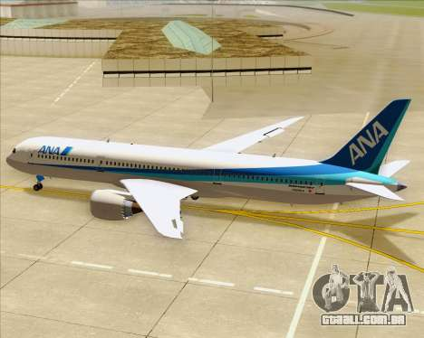 Boeing 787-9 All Nippon Airways para o motor de GTA San Andreas