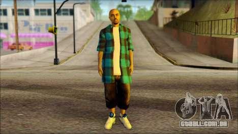 Los Aztecas Gang Skin v3 para GTA San Andreas