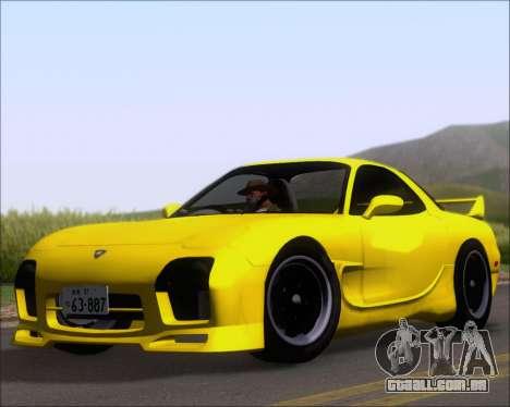 Mazda RX-7 FD3S A-Spec para GTA San Andreas esquerda vista