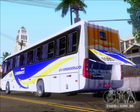 Marcopolo Ideale 770 - Volksbus 17-230 EOD para vista lateral GTA San Andreas