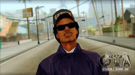 Eazy-E Blue v2 para GTA San Andreas terceira tela