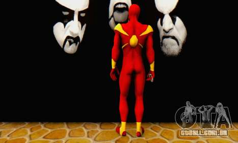 Skin The Amazing Spider Man 2 - DLC Iron Spider para GTA San Andreas terceira tela