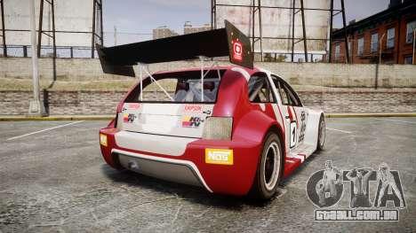 Zenden Cup Dalilfodda para GTA 4 traseira esquerda vista
